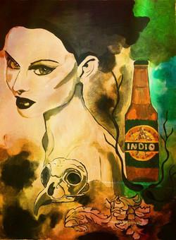 Indigo Beer.