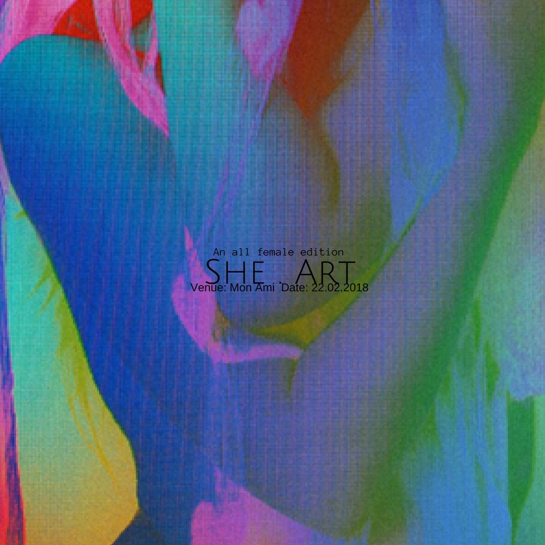 She.Art Showcase at Mon Ami