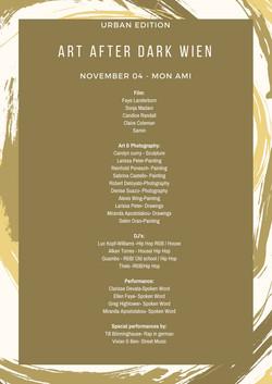 AADW Lineup List
