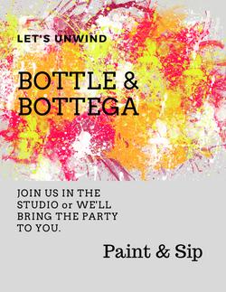 Bottle and Bottega Paint & Sip