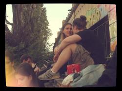 Charlotte und Luca.