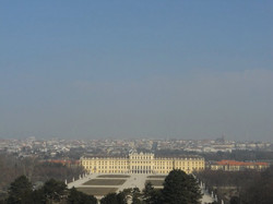 Full View of Schönbrunn Palace.