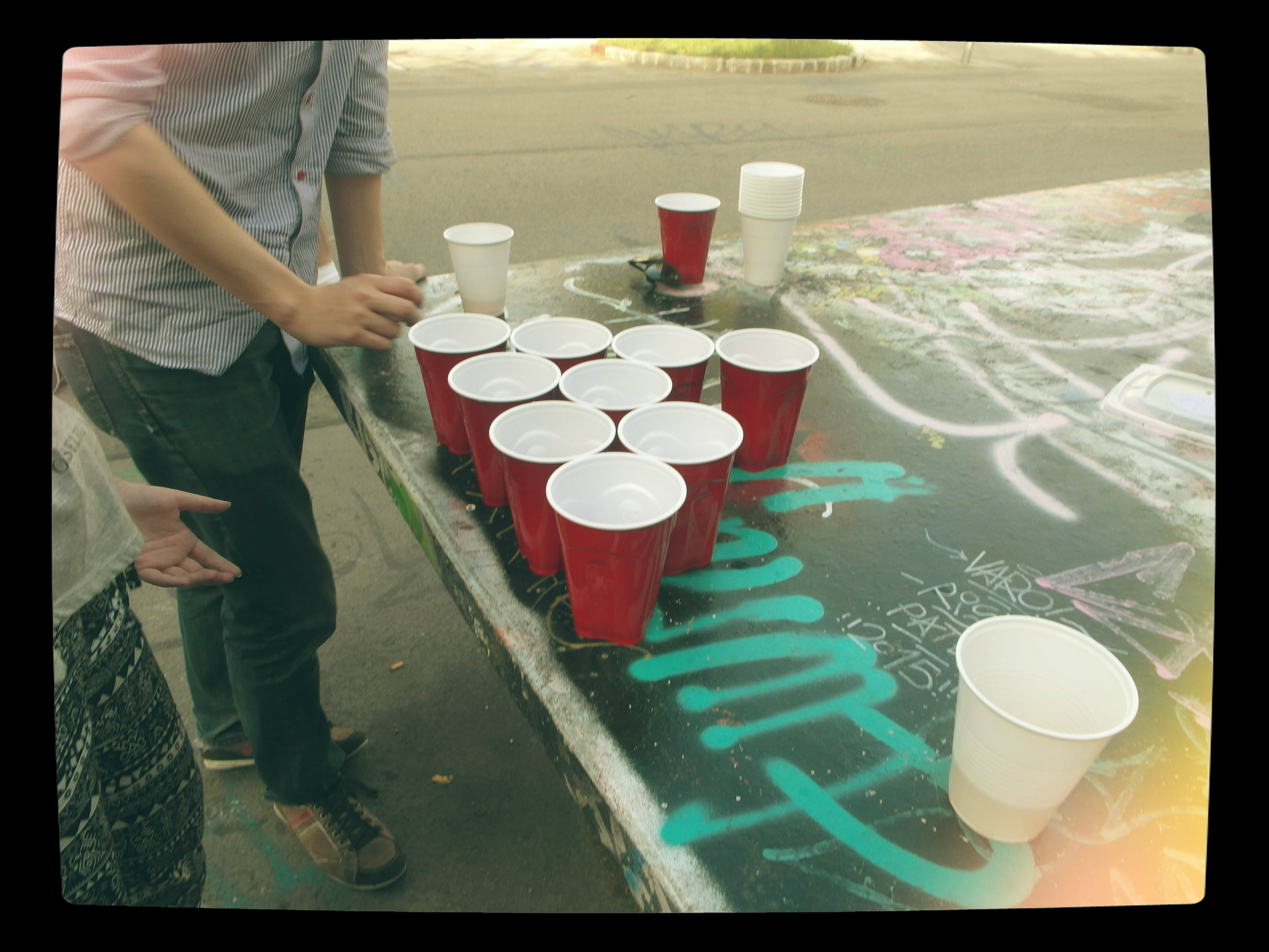 Beer Pong and Friends.