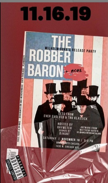 The Robber Baron Album Release Party