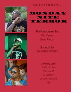 Monday Nite Terror