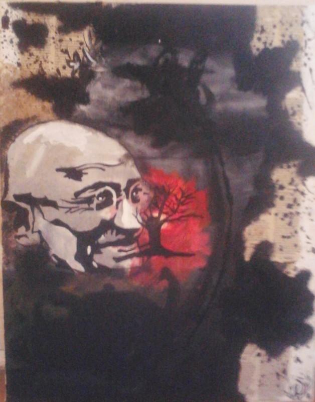 Ghandi.