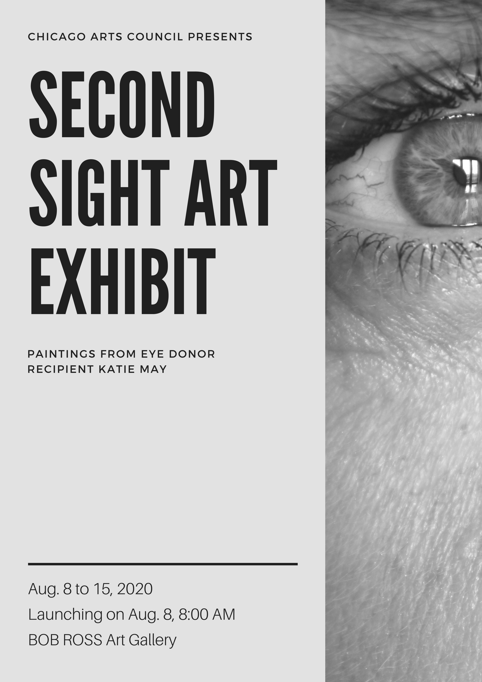 Second Sight Art Exhibit.