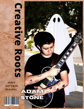 Chicago Musician ADAM Stone, and his Ghostly entrance.