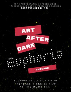 Bourbon On Division | Art after Dark
