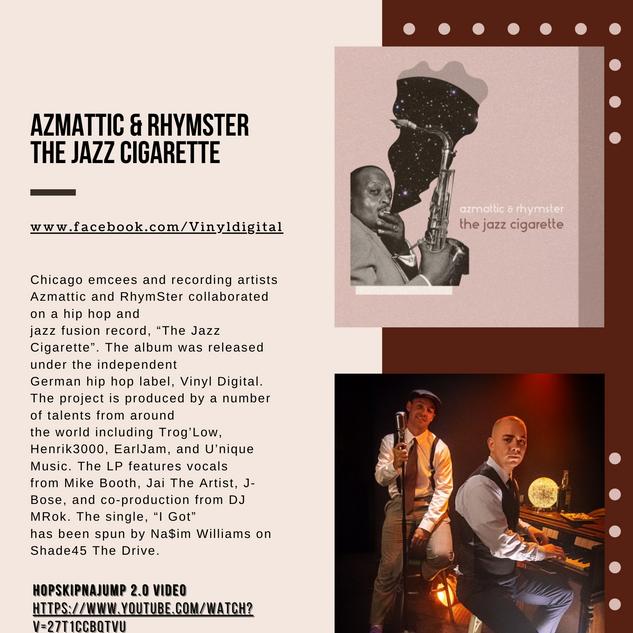 Press for Azmattic & RhymSter - The Jazz