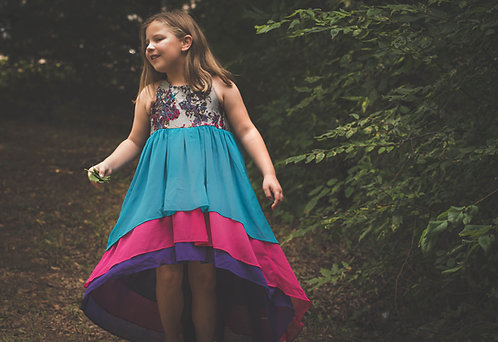 Splatter Paint Emery Dress