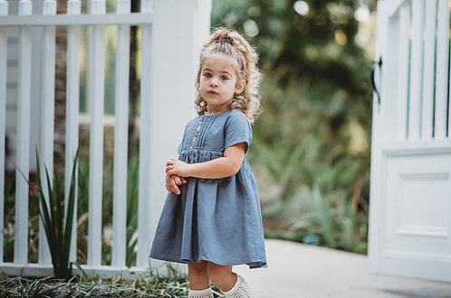 Autumn Harvest Dress with bloomers