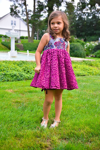 Splatter Paint Ellie Shortie Dress with Bloomer Shorts