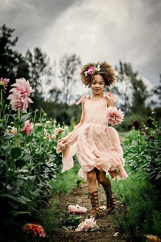 Spring Shimmer Hi Lo Dress