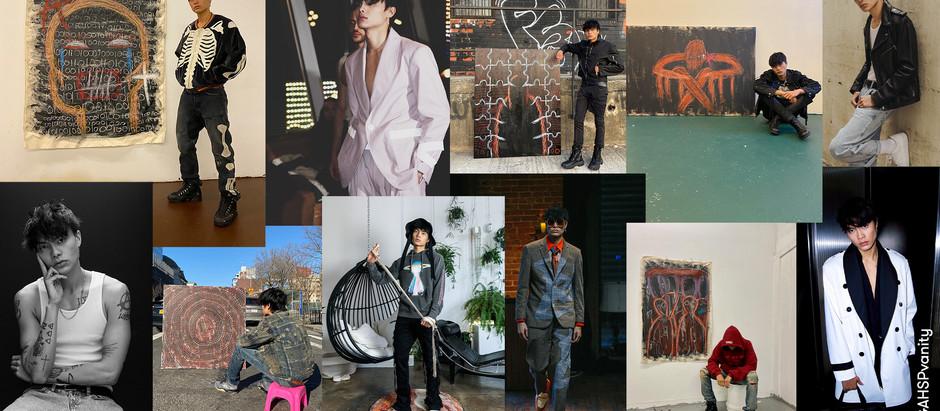 Scott Flores, Model & Multidisciplinary Artist, Designer, NYC