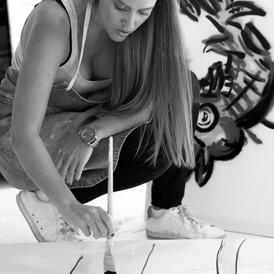 Ane Alfeiran. The self-taught and self-representing artist. Qu & A.