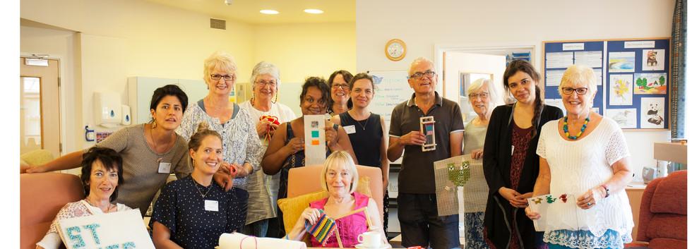 Participants at Princess Alice Hospice