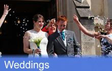 Click here for information on Weddings at Trinity