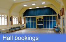 Click here for information on hall bookings at Trinity