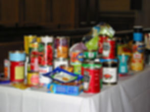 Harvest food for South London MIssion