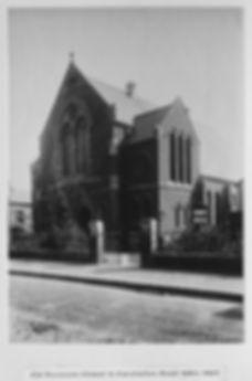 The old Wesleyan Chapel 1884-1907