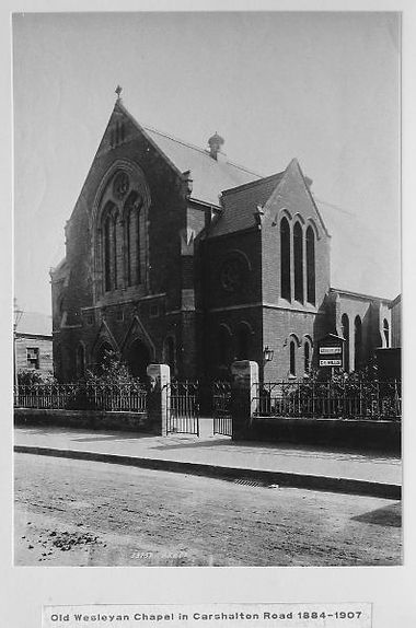 The old Wesleyan Chapel 1884-1907