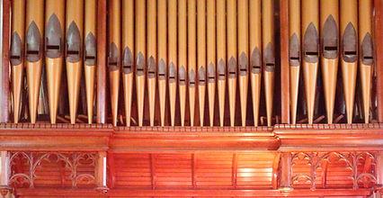 Trnity's organ