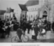 The opening of Trinity Church in 1907