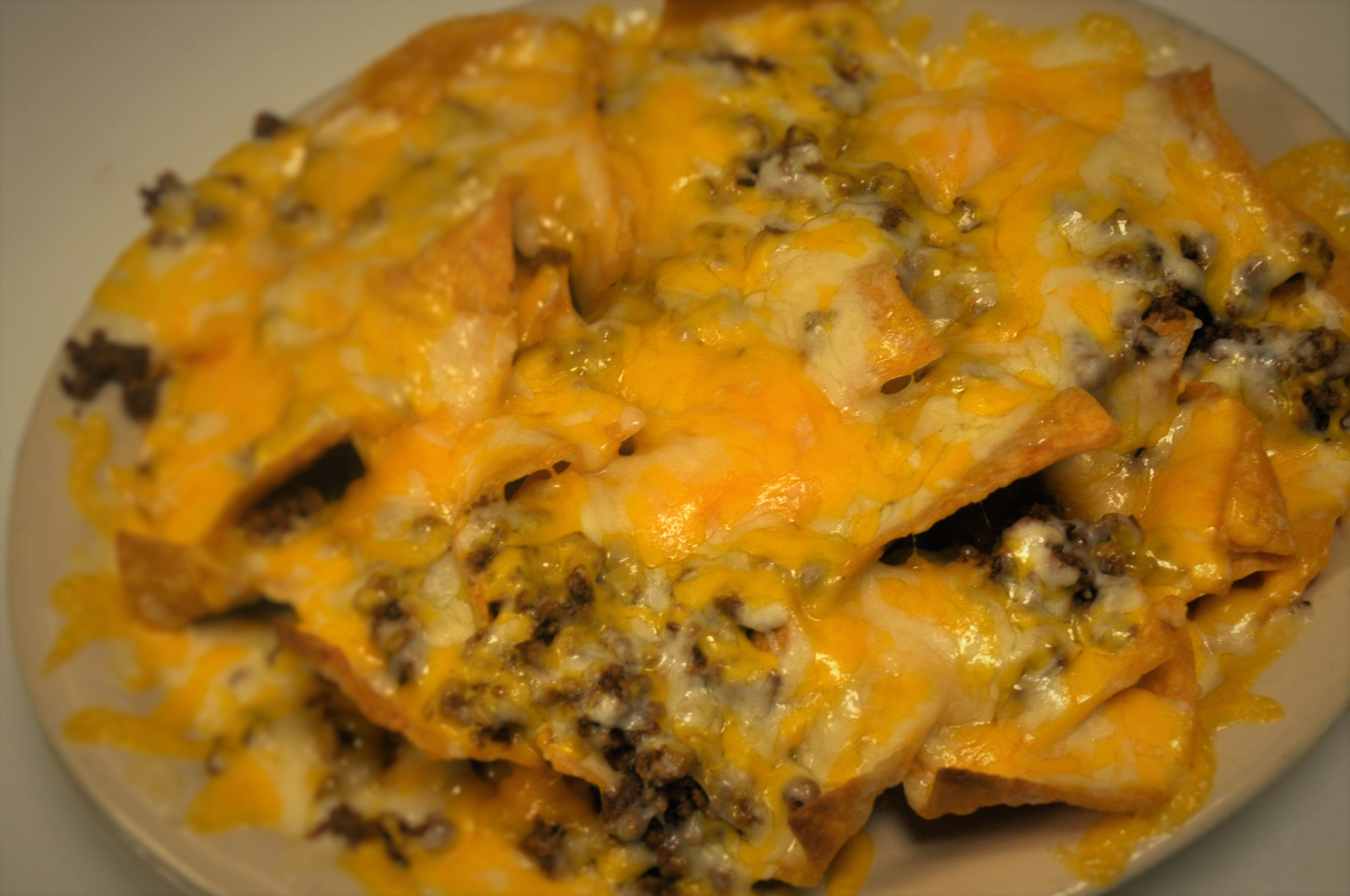 Meat & Cheese Nachos