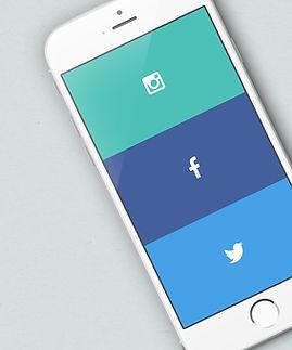 iphone social media marketing, website building