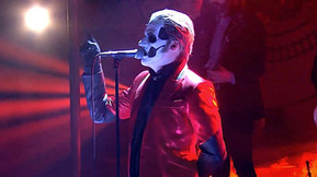 """Papa Emeritus IV Performs """"Sympathy for the Devil"""" with The Hellacopters On Swedish TV"""