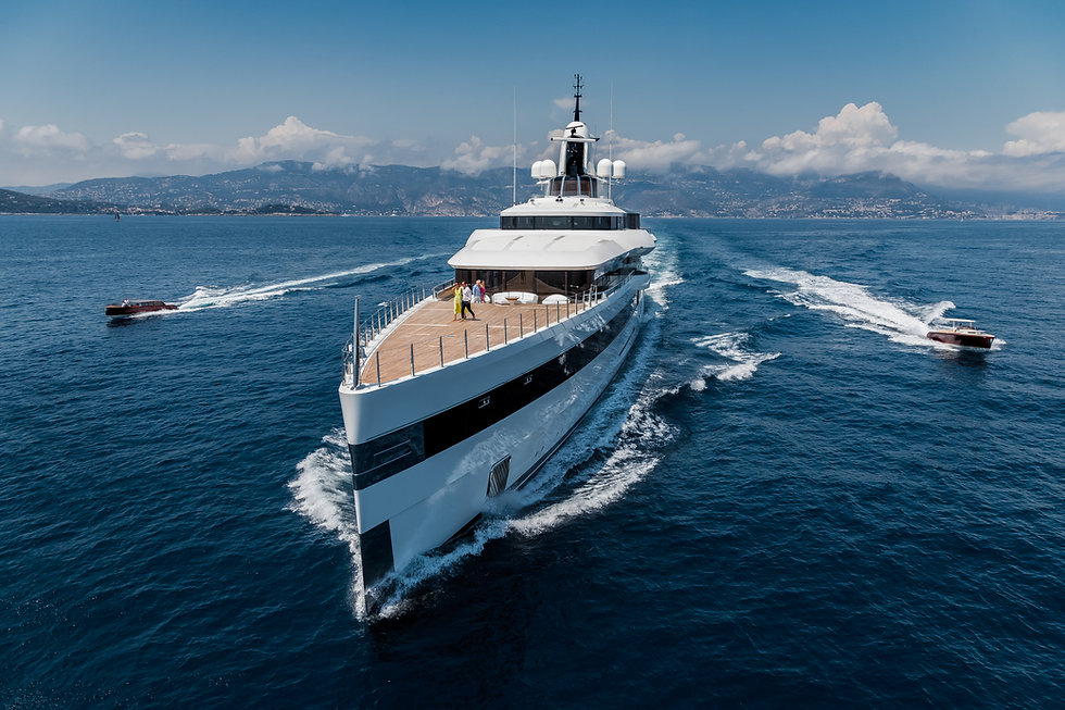 Superyacht Lady S - Feadship - Michael Leach Design - Superyacht Design
