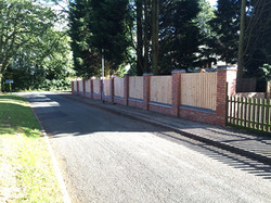 Larch Boundary Fence