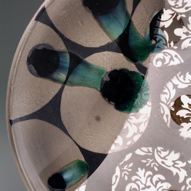 Wall Hanging Platter- detail