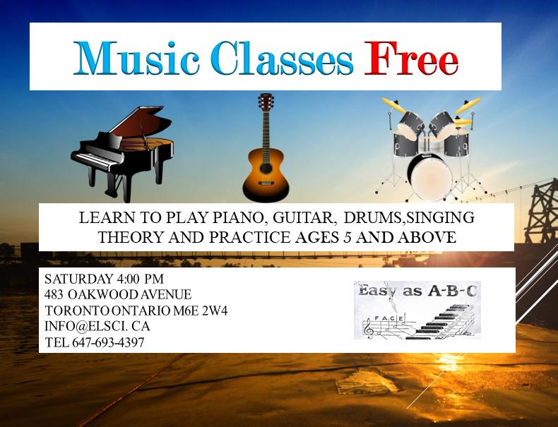 Free Music Classes