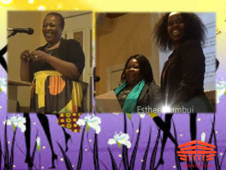 Women community builders serving East African community recognized on IWD