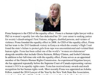 IWD RECOGNITION AWARD NOMINEE