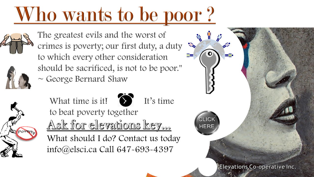 Who wants poverty