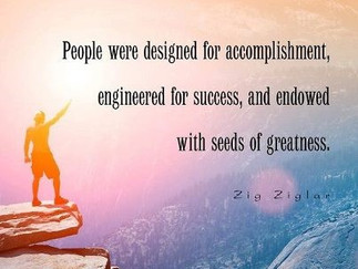 You are engineered for success