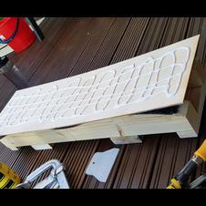 Gluing birch plywood