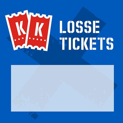 Bestel losse tickets