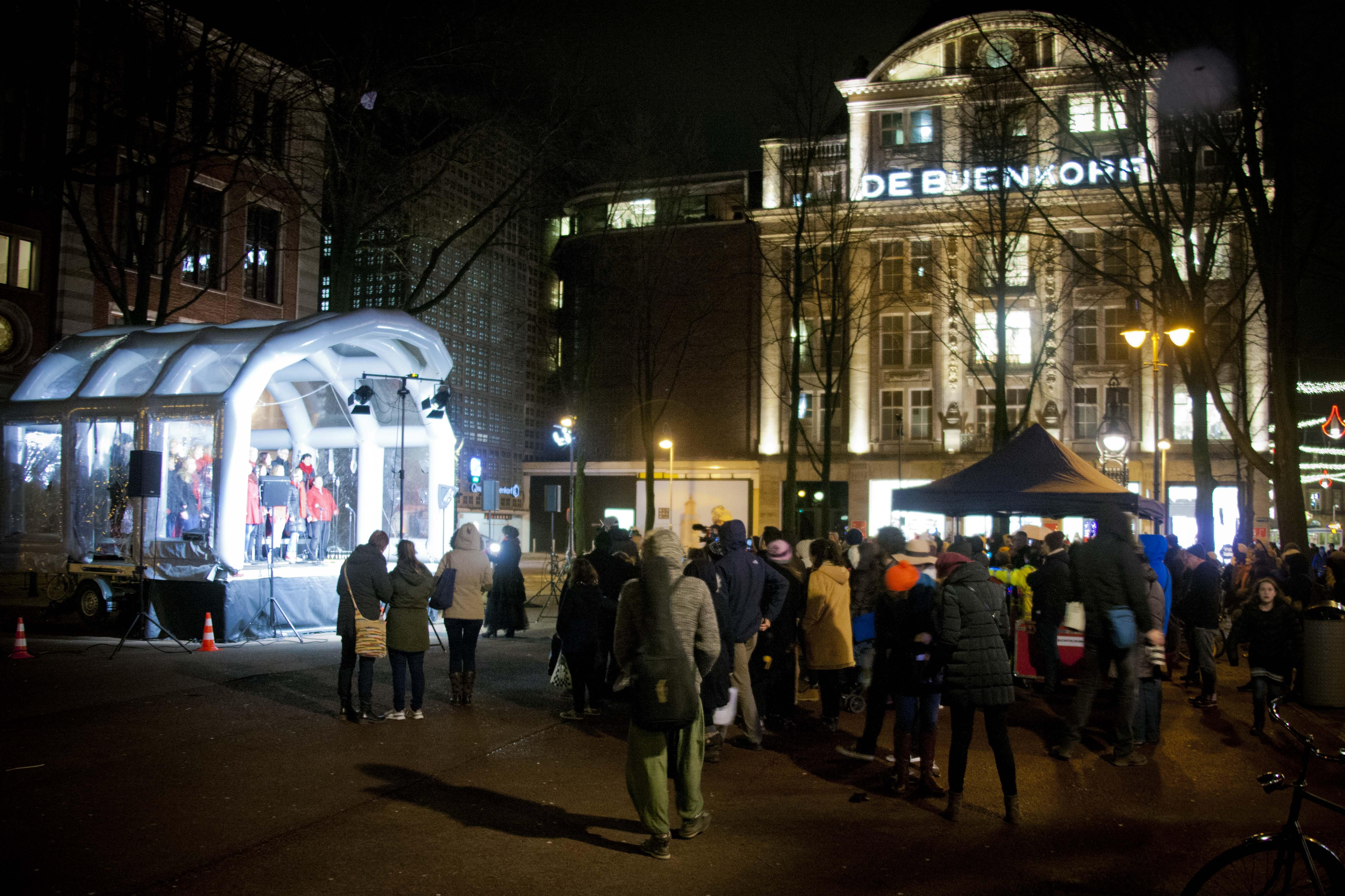 RockPodium: Bijenkorf Amsterdam