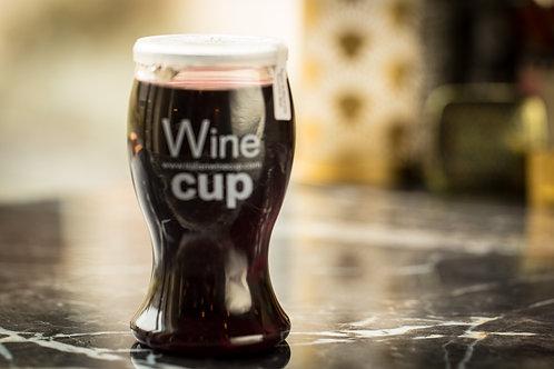 Glaasje rode wijn