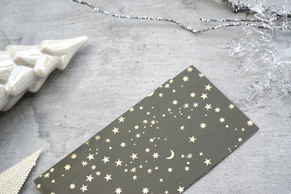 Green Metallic Stars Taschen S/M/L