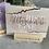 Thumbnail: Kartenhalter/ Fotohalter aus Holz Wundervoll