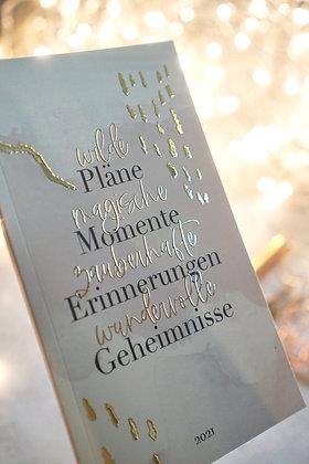 Notizbuch Taschenbuch 2021
