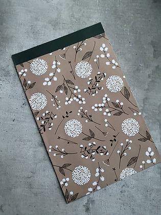 Flower Rose Kraft-Papiertaschen M