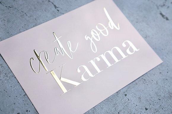 Karte Karma