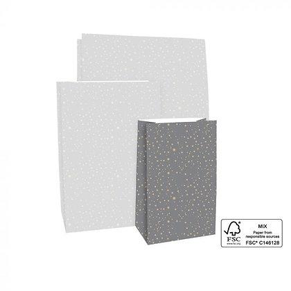 Flachboden Taschen Grey Stars S/M/L (Vorbestellung)