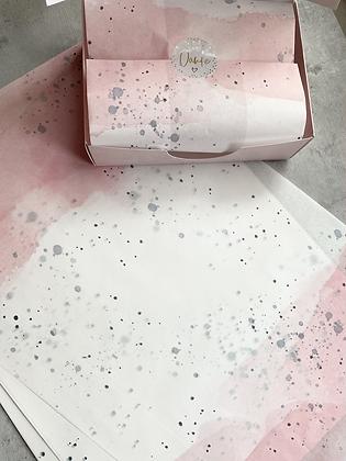 Seidenpapier Watercolor Kleines Format